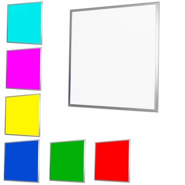 Dalle LED RGB multicolore dimmable 60X60CM encastrable plafond télécommande