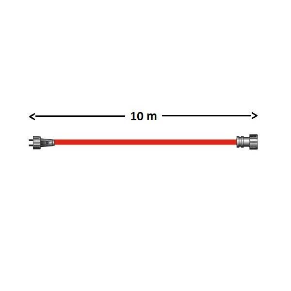Rallonge 12V 10M SPT3 avec 1 connecteur extérieur IP44 Garden Pro dimensions