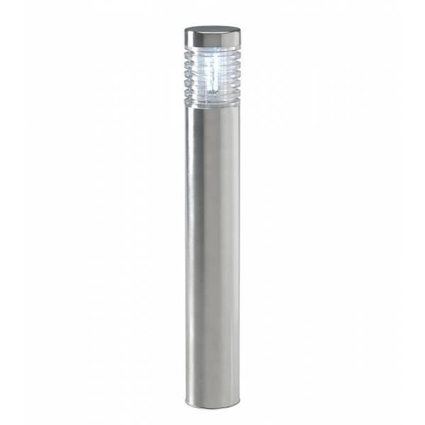 Borne lumineuse extérieur 2W LED blanc froid 6000K IP44 inox 12V Garden Pro