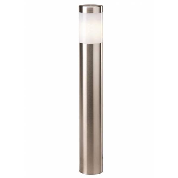 Borne lumineuse extérieur inox LED H41cm blanc chaud 2W 12V IP44 Garden Pro