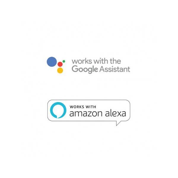 Ampoule LED connectée WIFI dimmable RGB+Blanc CCT 2700K-6500K GU10 5W Vision Pro Google Home Amazon Alexa Google assistant