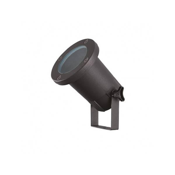 Spot piquet extérieur LED noir IP65 12V aluminium GU5.3 Visionpro projecteur jardin