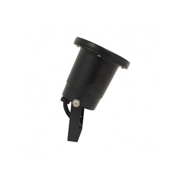 Spot piquet extérieur LED noir IP65 12V aluminium GU5.3 Visionpro