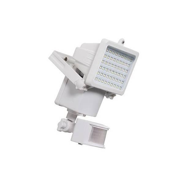 Projecteur détecteur de mouvement solaire 1000 lumens blanc professionnel LEBLANC CHROMEX