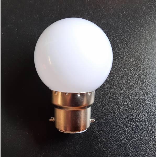 Ampoule B22 1W LED Blanc chaud pour guirlande guinguette qualité professionnelle