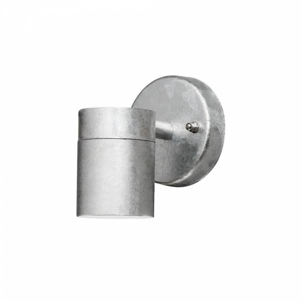 applique lumière vers le bas métal galvanisée sans ampoule