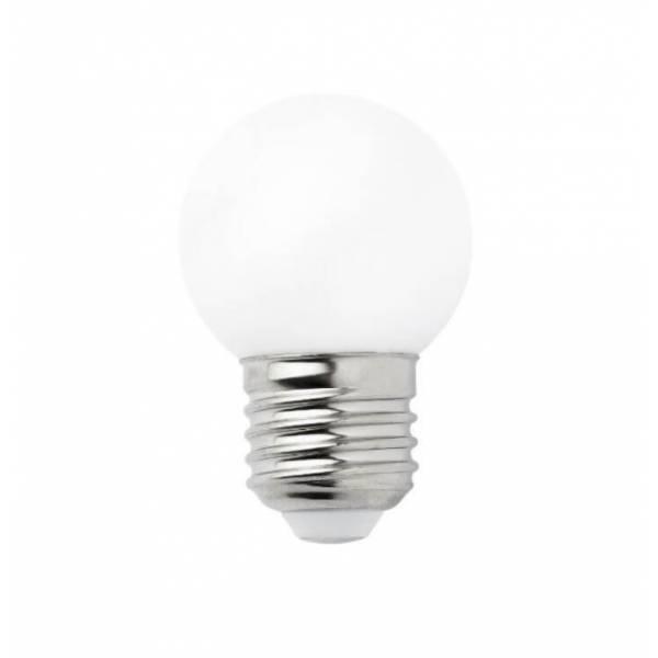 Ampoule LED 1W Guinguette E27 blanc chaud professionnelle G45