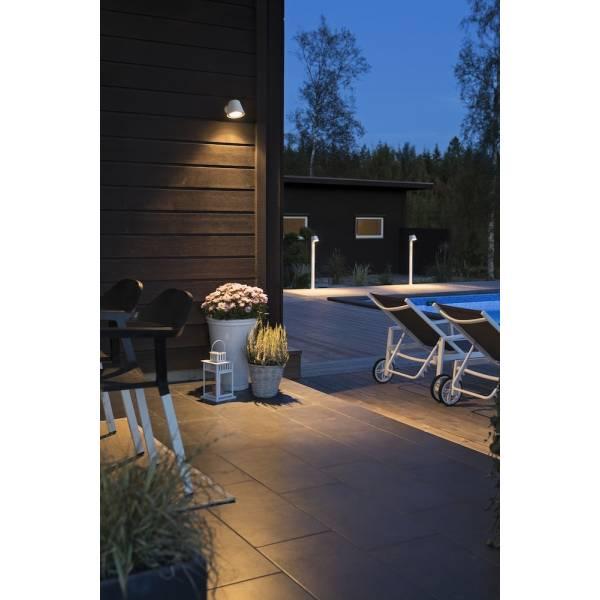 applique design blanche pour votre terrasse exterieur