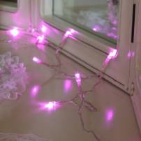 Guirlande led Rose Piles