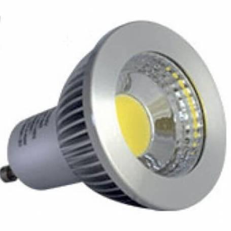 Ampoules led cob gu10 5w 2700k blanc chaud professionnelle