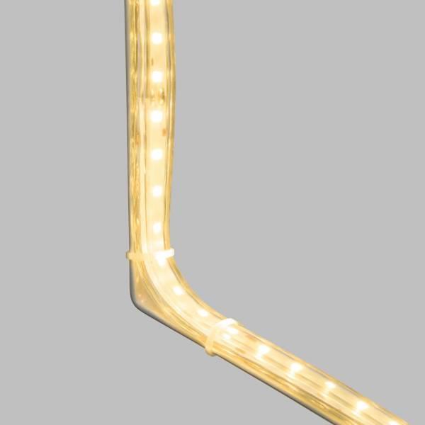 Etoile filante lumineuse flash 288 led blanc chaud 100CM IP44