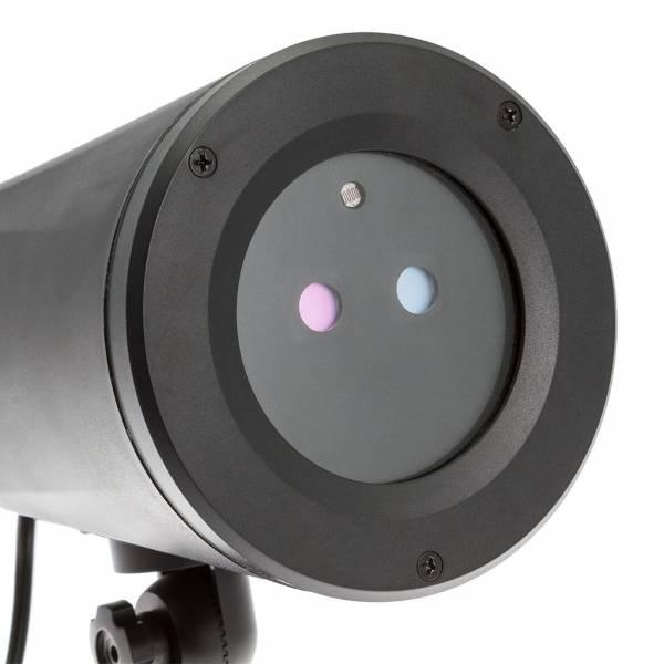 Projecteur laser Noel étoiles vertes points rouges animés extérieur IP65