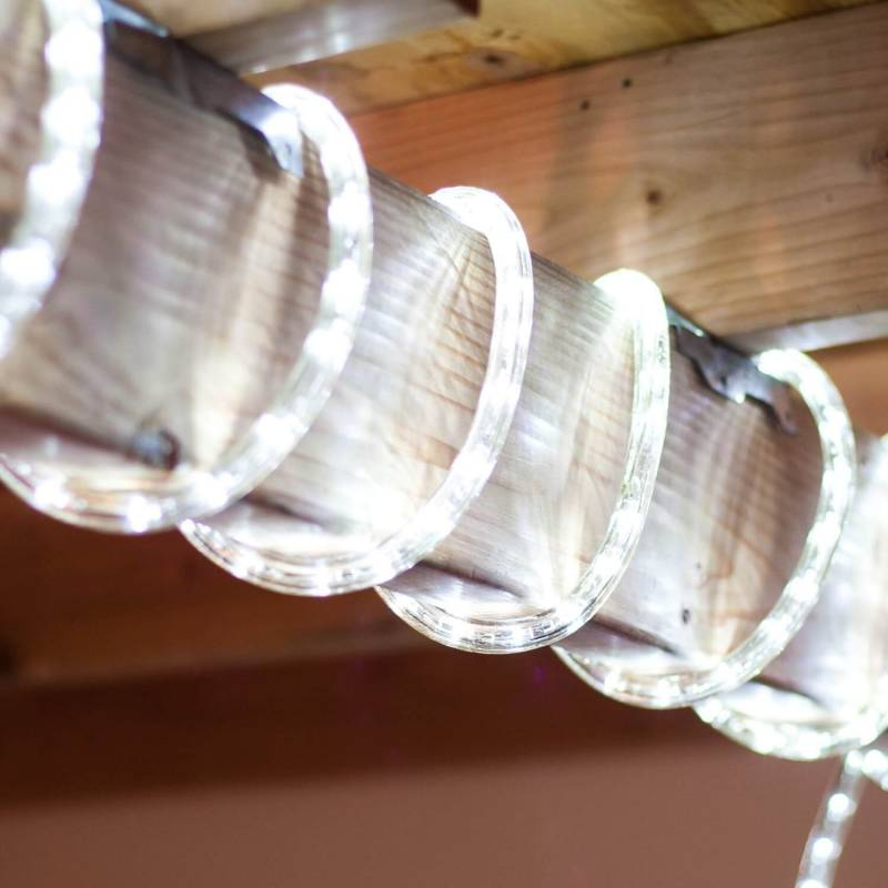 cordon lumineux led blanc froid 40 mètres pas cher
