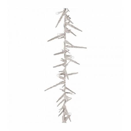 Guirlande led pic stalactite déco