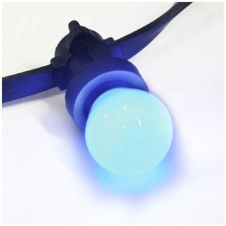 Ampoule led b22 Bleue pour guirlande guinguette