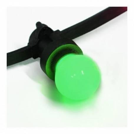 Ampoule led b22 Verte pour guirlande guinguette