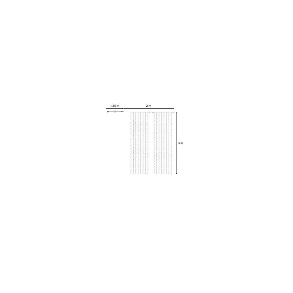 rideaux lumineux led flash 3m hauteur blanc chaud professionnel. Black Bedroom Furniture Sets. Home Design Ideas