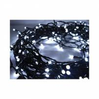 GUIRLANDE LED 16 METRE BLANC FROID CABLE VERT