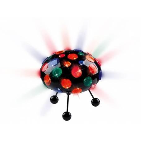 Lampe d'animation Ovni sur pied ou à suspendre changement de couleur et rotation