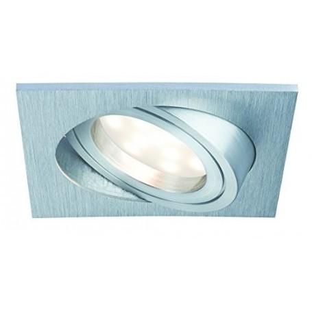Kit de 3 Spot Orientables Aluminium 7W blanc chaud professionnels