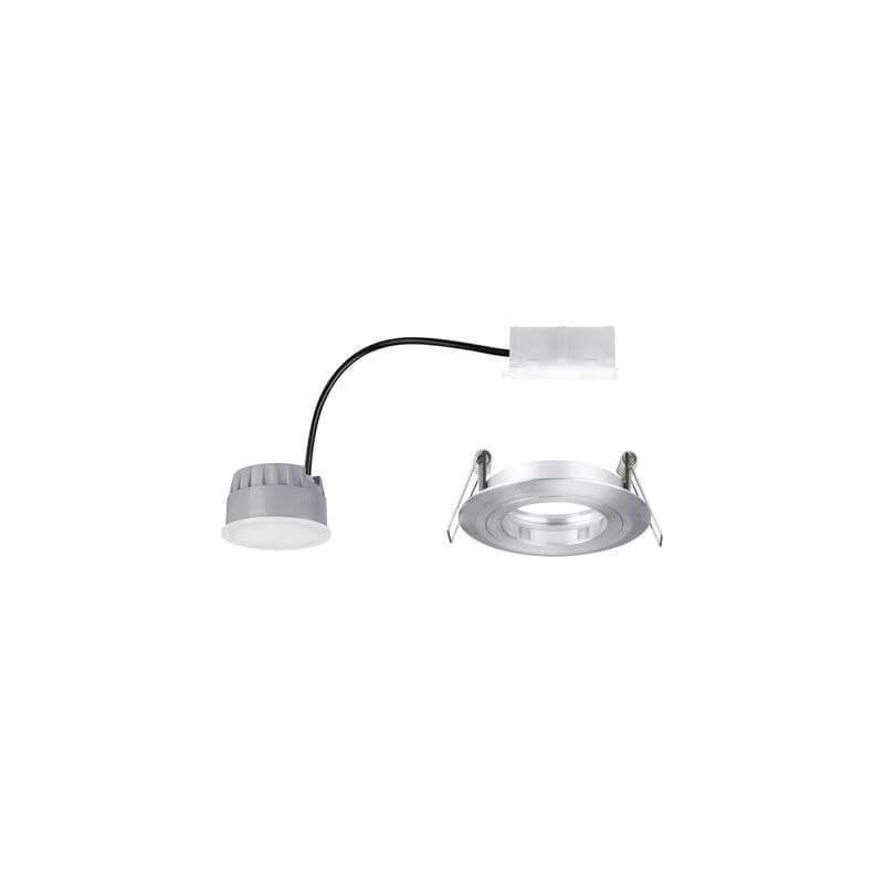 spot encastrable led salle de bain blanc chaud 7w aluminium. Black Bedroom Furniture Sets. Home Design Ideas