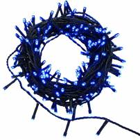 Guirlande led 35 mètres 500 led bleues animées