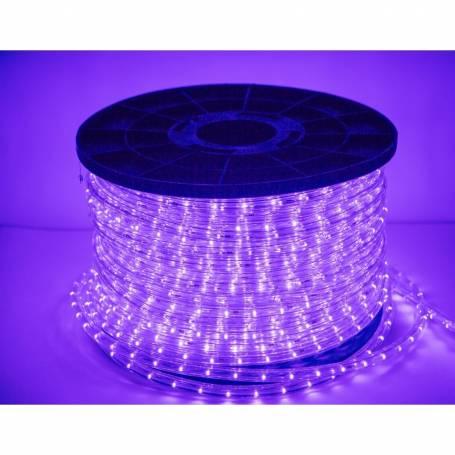cordon lumineux led 50 mètres violet