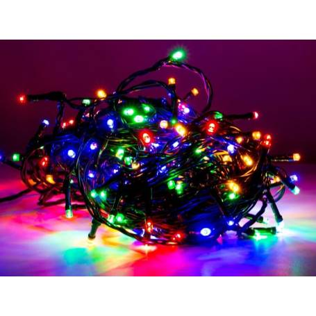 Guirlande 40 led multicolore 8 modes animation 4 mètres