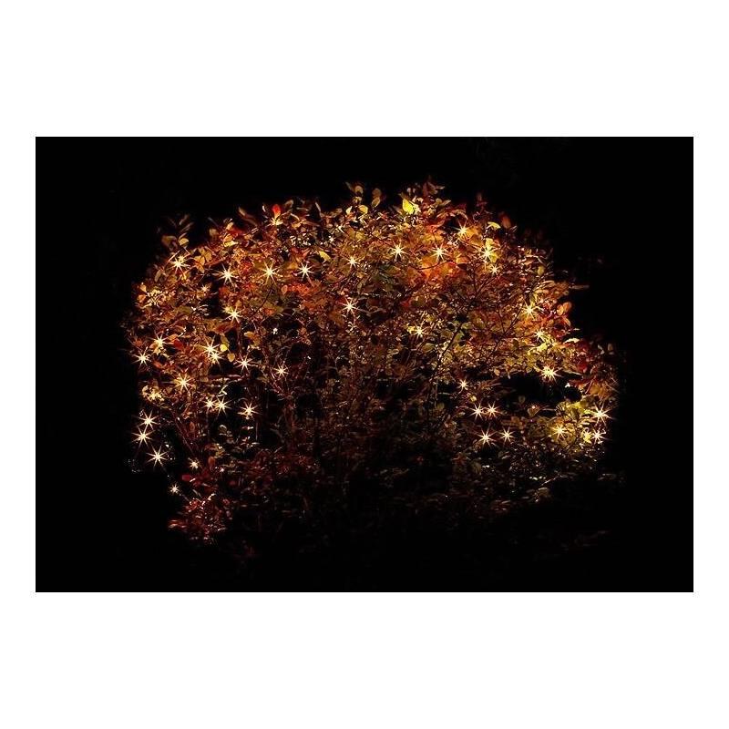 Filet lumineux led blanc chaud pour arbre
