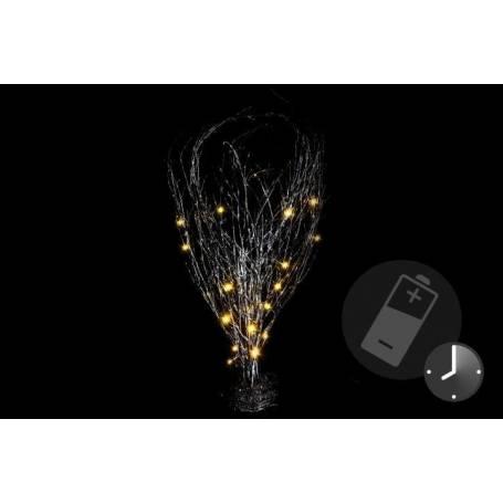 Branches lumineuses led à piles 20 LED 50cm de haut extérieur