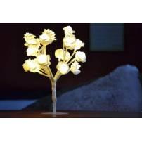 Mini Arbre lumineux Piles rose blanc blanche LED