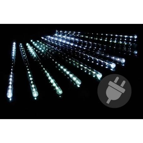 10 Stalactites lumineux LED 30CM blanc froid effet cascade