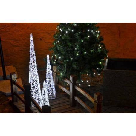 Pyramide lumineuse led blanc froid professionnelle