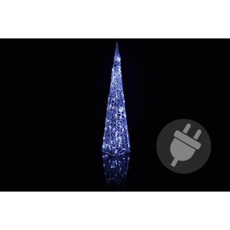 pyramide lumineuse led blanc froid pas cher