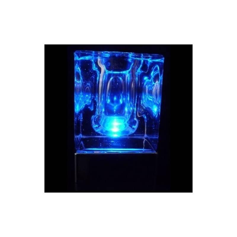 Centre de table lumineux led bleu sans fil