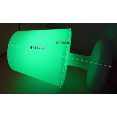 Lampe de table rechargeable extérieure télécommande professionnelle professionnel