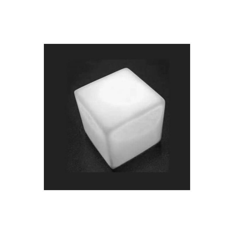 Petit cube lumineux led piles blanc froid fixe ou clignotent