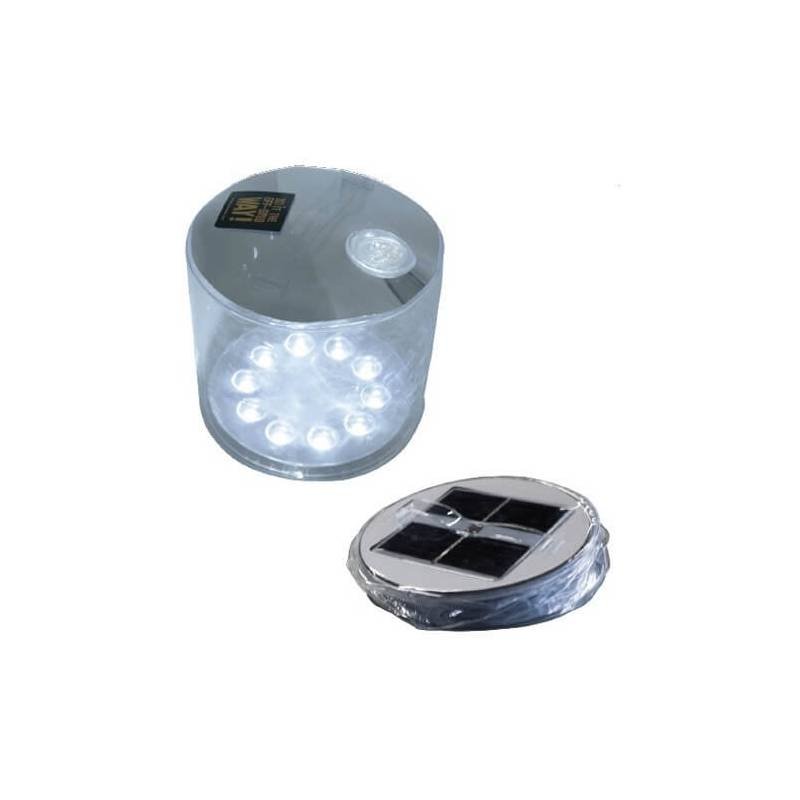 Lampe lanterne solaire lumineuse LED gonflable blanche piscine professionnel