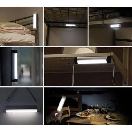 Lampe rechargeable aimantée nomade batterie professionnel