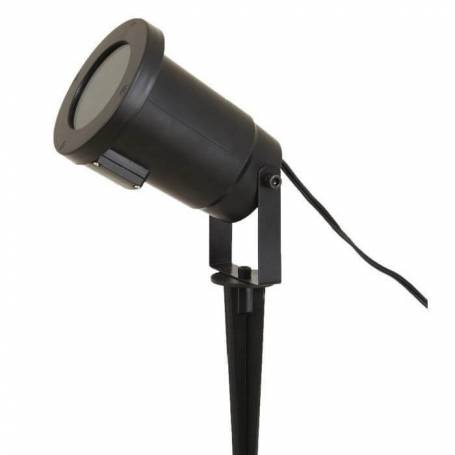 Projecteur LED déco lune et étoile pour enfant blanc