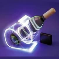 Porte bouteille lumineux led blanc froid secteur professionnel