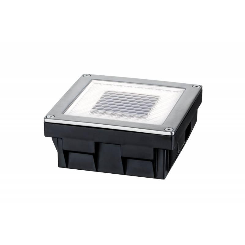 Spot LED encastrable solaire carré professionnel