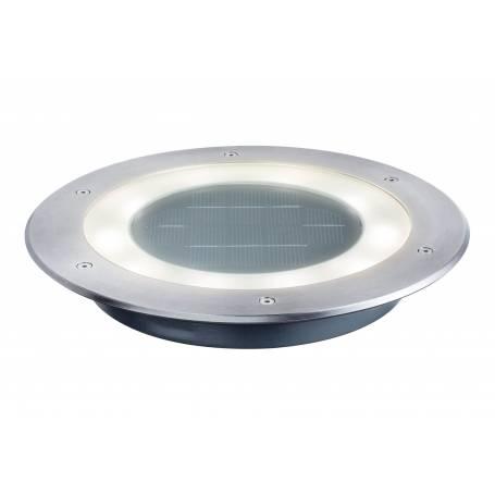 Spot LED encastrable solaire Inox professionnel