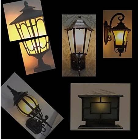 ampoule led effet flamme pour lanterne luminaire intérieur extérieur