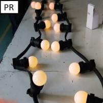 Guirlande Guinguette 100M ampoule led incluses professionnelle