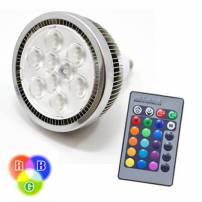 Ampoule PAR38 LED E27 RGB télécommande