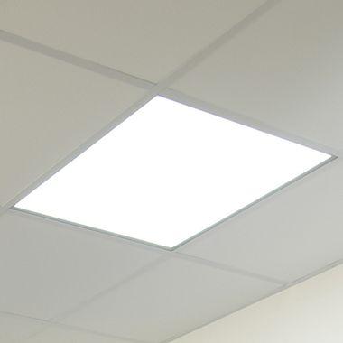Dalle LED de plafond carrée