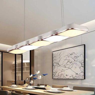 Dalle LED de plafond blanc chaud, idéal pour le salon ou la salle à manger